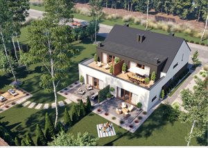 Nowe domy Apartamenty Osiedle Róży Wiatrów