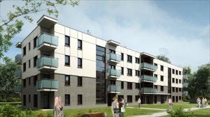 Nowe mieszkania Tedex Residence etap II