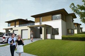 Nowe domy Osiedle na Wzgórzach - domy