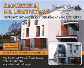 sprzedam nowy dom Warszawa Ursynów
