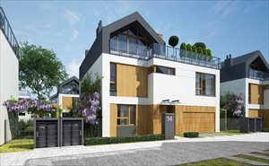 sprzedam nowy dom Warszawa Kabaty