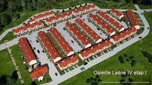 Nowe domy Domy szeregowe z ogrodem
