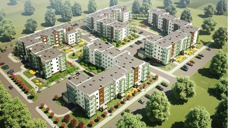 Nowe mieszkanie trzypokojowe OSIEDLE POLESIE V Świdnik, ul. Klonowa 69  68m2 Foto 4