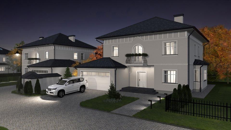 Dom na sprzedaż Villa Moderna Pęcice Małe, Parkowa 50  350m2 Foto 1