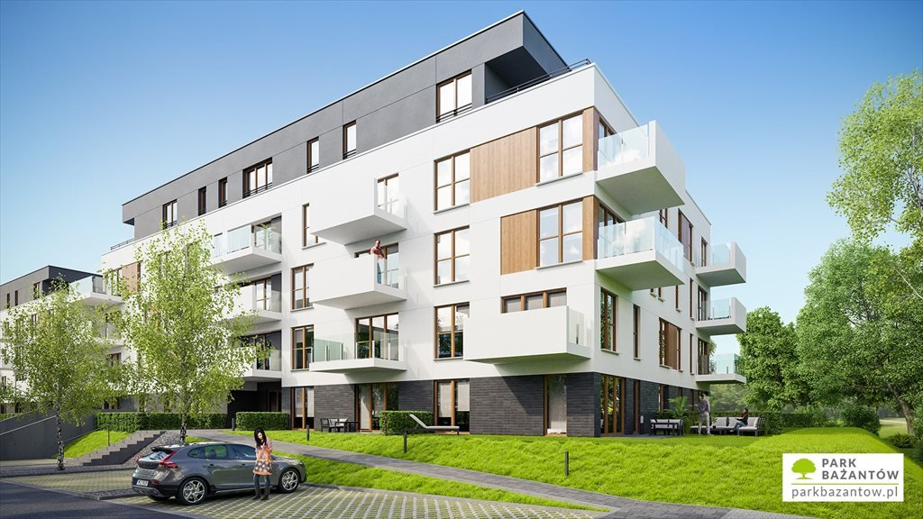 Nowe mieszkanie trzypokojowe Park Bażantów Katowice, Kostuchna, Bażantów 20  85m2 Foto 3
