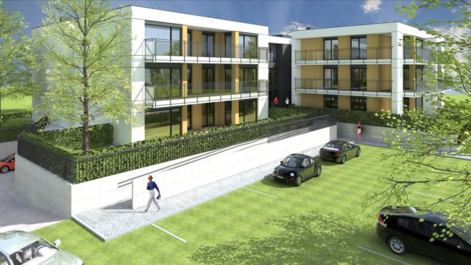 Nowe mieszkanie trzypokojowe Apartamenty Laurowe Opole, Źródlana 5C  65m2 Foto 1