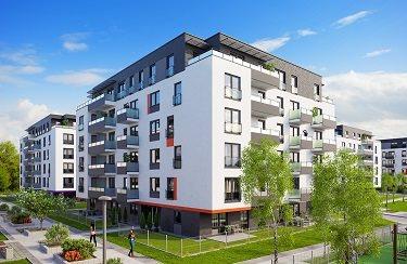 Nowe mieszkanie dwupokojowe Osiedle Franciszkańskie Południe Katowice, Ligota-Panewniki, Franciszkańskie, Kijowska 44  49m2 Foto 3