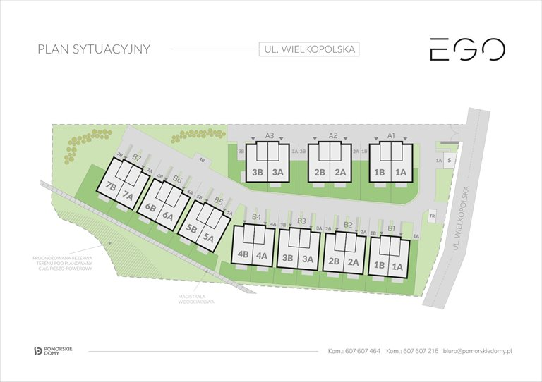 Nowy dom EGO Gdańsk, Ujeścisko-Łostowice, Wielkopolska 2  143m2 Foto 2