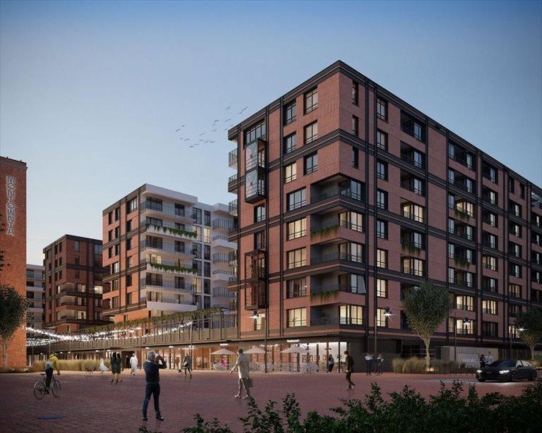 Nowe mieszkanie czteropokojowe  DOKI LIVING Gdańsk, Śródmieście, ks. Jerzego Popiełuszki/Rybaki Górne  82m2 Foto 1