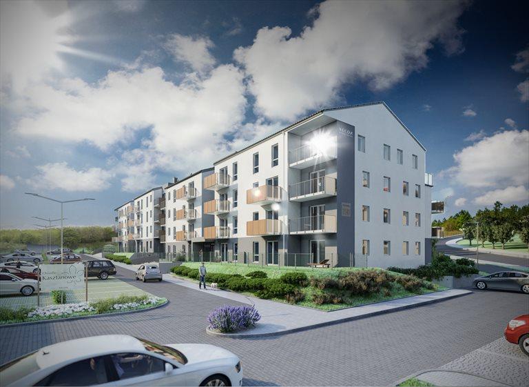 Nowe mieszkanie trzypokojowe Osiedle Kasztanowe Borkowo, Kasztanowa 75A,B,C  67m2 Foto 3