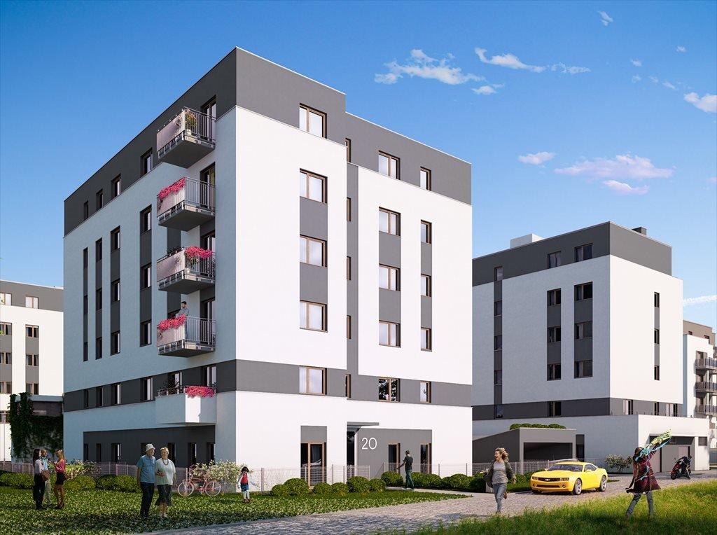 Nowe mieszkanie trzypokojowe Nowe Ogrody Etap III Poznań, Wola, ul. Meissnera 2  74m2 Foto 1