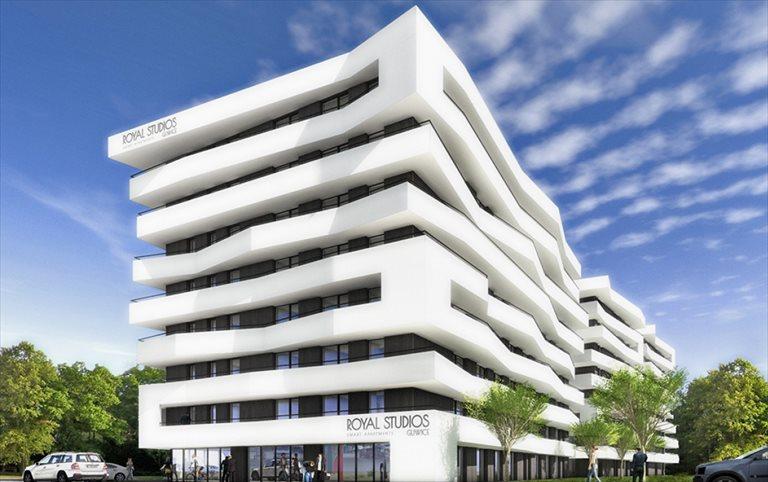 Nowe mieszkanie trzypokojowe Royal Smart Studios Etap II Gliwice, Politechnika, Pszczyńska 51  40m2 Foto 3