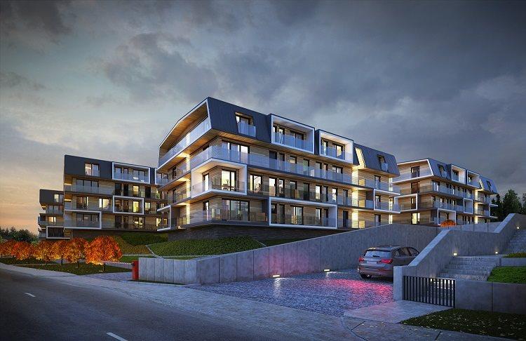 Nowe mieszkanie dwupokojowe Green Club Szklarska Poręba, ul. Demokratów  47m2 Foto 1