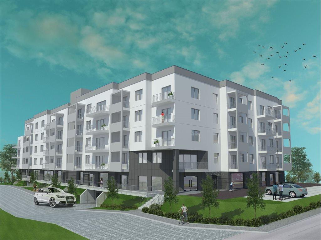 Nowa kawalerka Gdańskie Tarasy Gdańsk, Jasień, ul. Kartuska 422  29m2 Foto 2