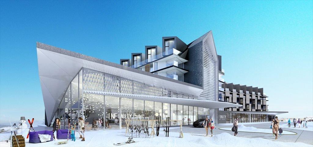 Nowe mieszkanie dwupokojowe INFINITY Zieleniec Ski & Spa Zieleniec  39m2 Foto 1