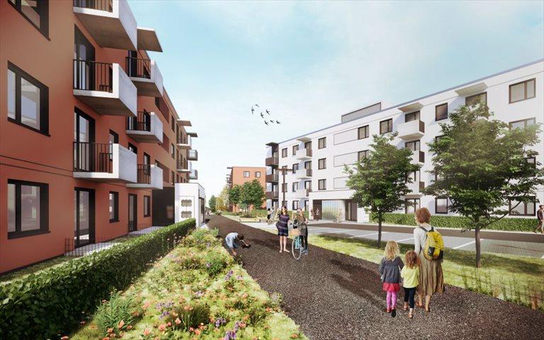 Nowe mieszkanie dwupokojowe Mieszkanie Plus (filar rynkowy) Toruń  Toruń, Podgórz, ul. Okólna  50m2 Foto 2