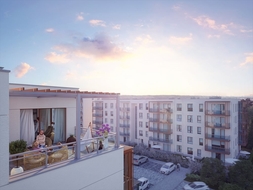 Nowe mieszkanie trzypokojowe Osiedle Locus Rumia, Janowo, Stoczniowców  58m2 Foto 3