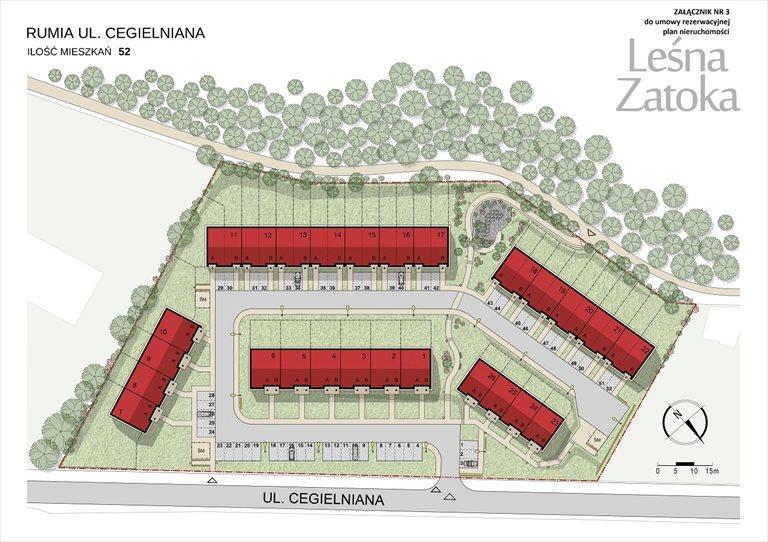 Nowe mieszkanie trzypokojowe LEŚNA ZATOKA Rumia, Ul. Cegielniana 3  121m2 Foto 8