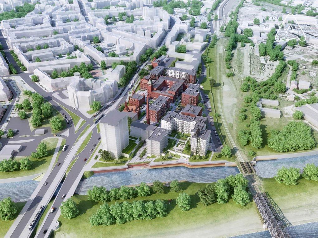 Nowe mieszkanie trzypokojowe Browary Wrocławskie  Mieszkania 1-5 pokojowe od 33 do 117 m2 Wrocław, Śródmieście, Jedności Narodowej  51m2 Foto 6