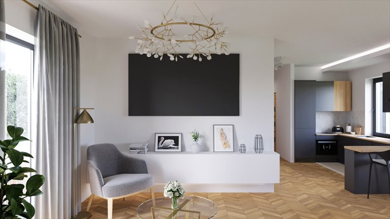 Nowe mieszkanie trzypokojowe Łanowa Park 2 Skawina, Łanowa  77m2 Foto 6
