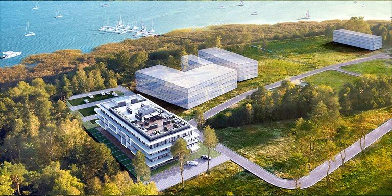 Nowe mieszkanie dwupokojowe Sea & Lake Luxury Apartments Resort Mielno, Unieście, Sosnowy las  34m2 Foto 2