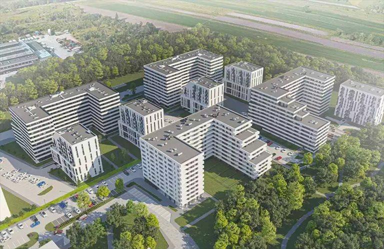 Nowe mieszkanie dwupokojowe Piasta Park IV Kraków, Piasta Kołodzieja  51m2 Foto 3