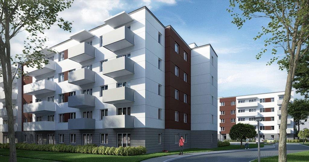 Mieszkanie dwupokojowe na sprzedaż Śląskie Tarasy Katowice, Nasypowa 12  52m2 Foto 1