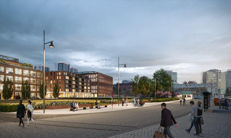 Nowe mieszkanie trzypokojowe DOKI LIVING Gdańsk, Śródmieście, ks. Jerzego Popiełuszki/Rybaki Górne  58m2 Foto 4