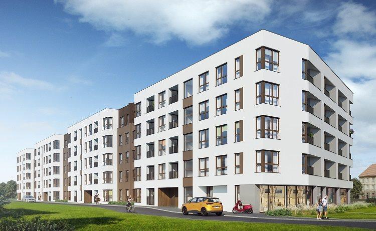 Nowe mieszkanie dwupokojowe Osiedle na Smolnej  VII Poznań, Nowe Miasto, Smolna 13  42m2 Foto 3