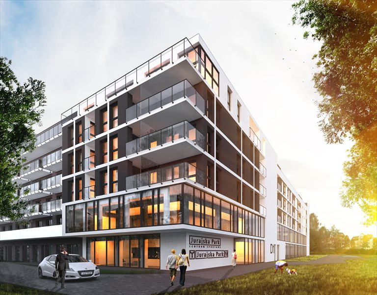 Nowe mieszkanie Jurajska Plaza Etap II Kielce, Jurajska  101m2 Foto 1