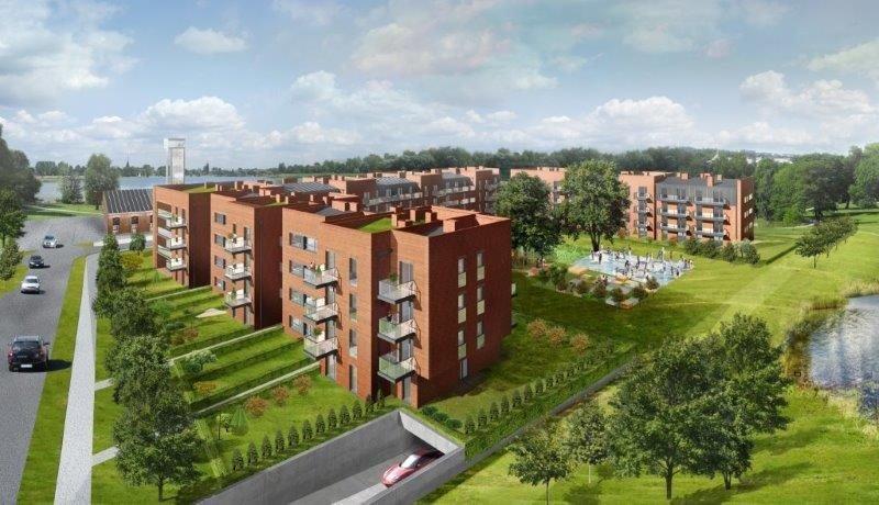 Nowe mieszkanie trzypokojowe Stara Cegielnia Poznań, Grunwald, Stara Cegielnia, Ceglana  79m2 Foto 4