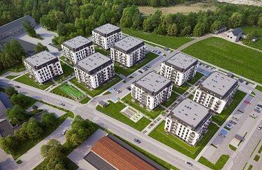 Nowe mieszkanie dwupokojowe Osiedle Franciszkańskie Południe Katowice, Ligota-Panewniki, Franciszkańskie, Kijowska 44  49m2 Foto 4