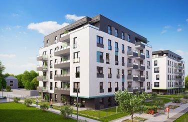 Nowe mieszkanie dwupokojowe Osiedle Franciszkańskie Południe Katowice, Ligota-Panewniki, Franciszkańskie, Kijowska 44  49m2 Foto 2