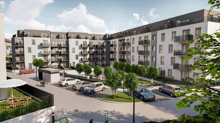 Nowe mieszkanie dwupokojowe Kajdasza etap II Wrocław, Kajdasza  48m2 Foto 3