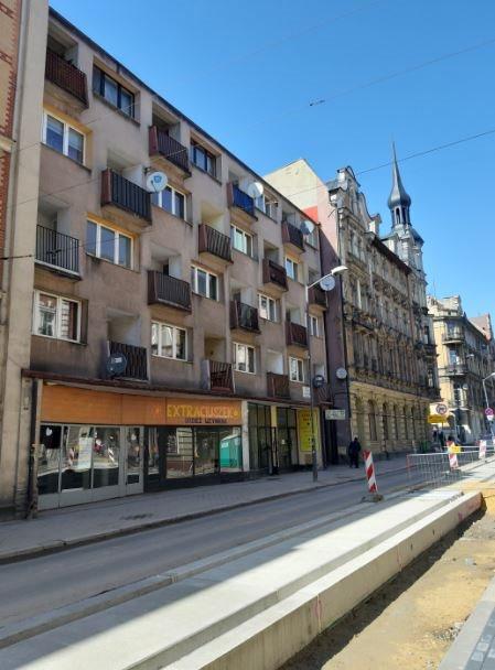 Mieszkanie trzypokojowe na sprzedaż Chorzów, Powstańców  44m2 Foto 2
