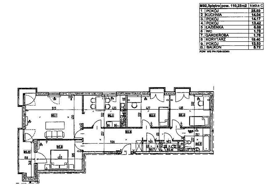 Mieszkanie na sprzedaż Warszawa, Bemowo, Dywizjonu 303  135m2 Foto 12