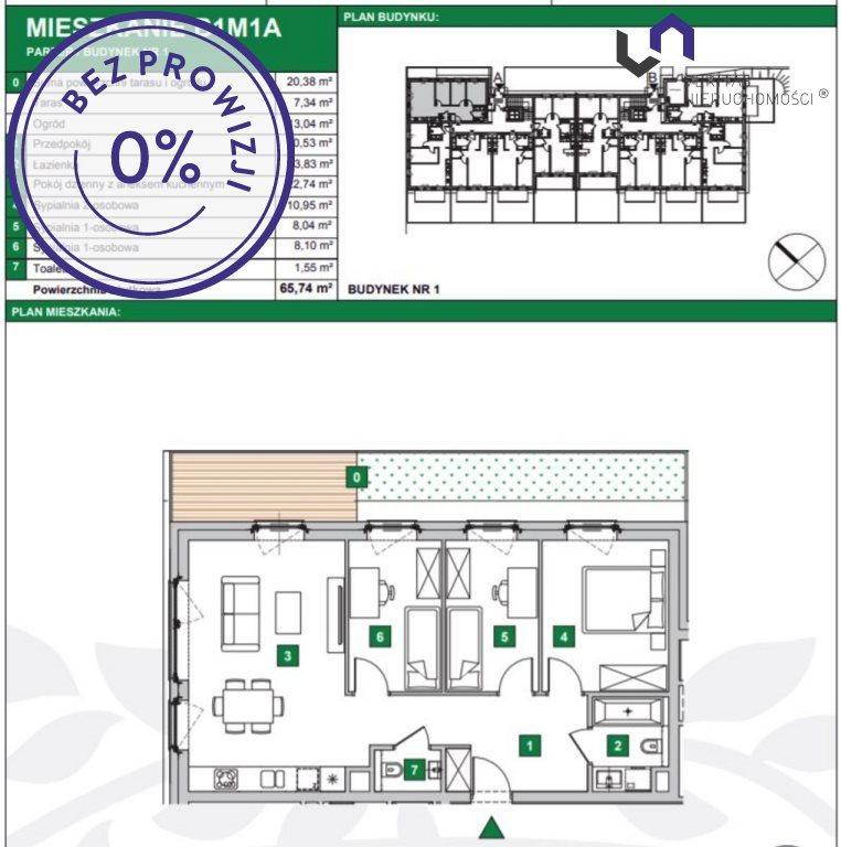Mieszkanie czteropokojowe  na sprzedaż Katowice, Podlesie, Armii Krajowej  66m2 Foto 2