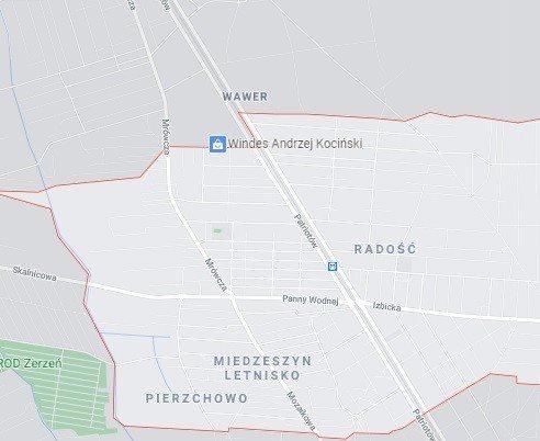 Działka budowlana na sprzedaż Warszawa, Wawer Radość  1101m2 Foto 2