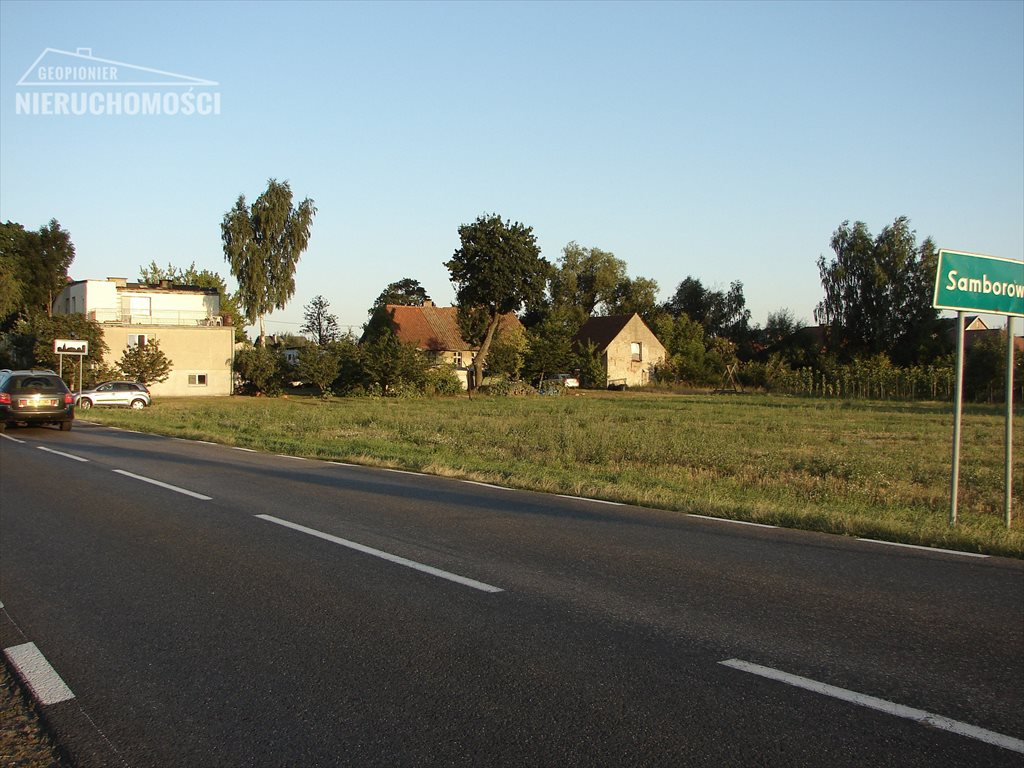 Działka budowlana na sprzedaż Ostróda, Samborowo Ostródzka  2500m2 Foto 3