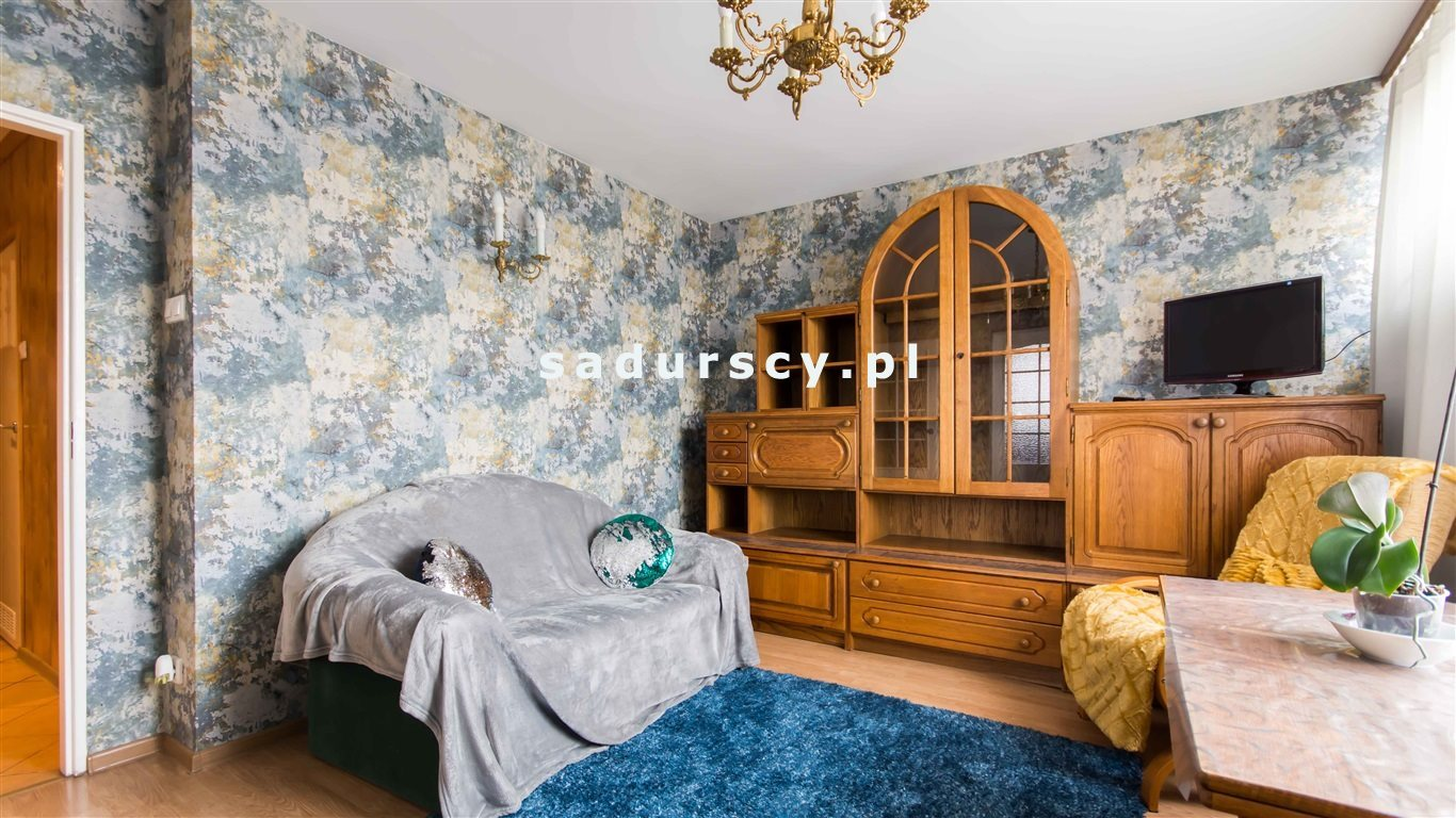 Mieszkanie trzypokojowe na sprzedaż Kraków, Grzegórzki, Dąbie, Widok  46m2 Foto 2