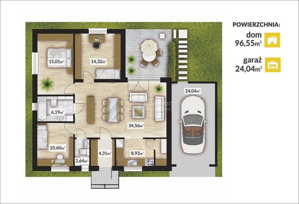 Dom na sprzedaż Radostowice  121m2 Foto 6