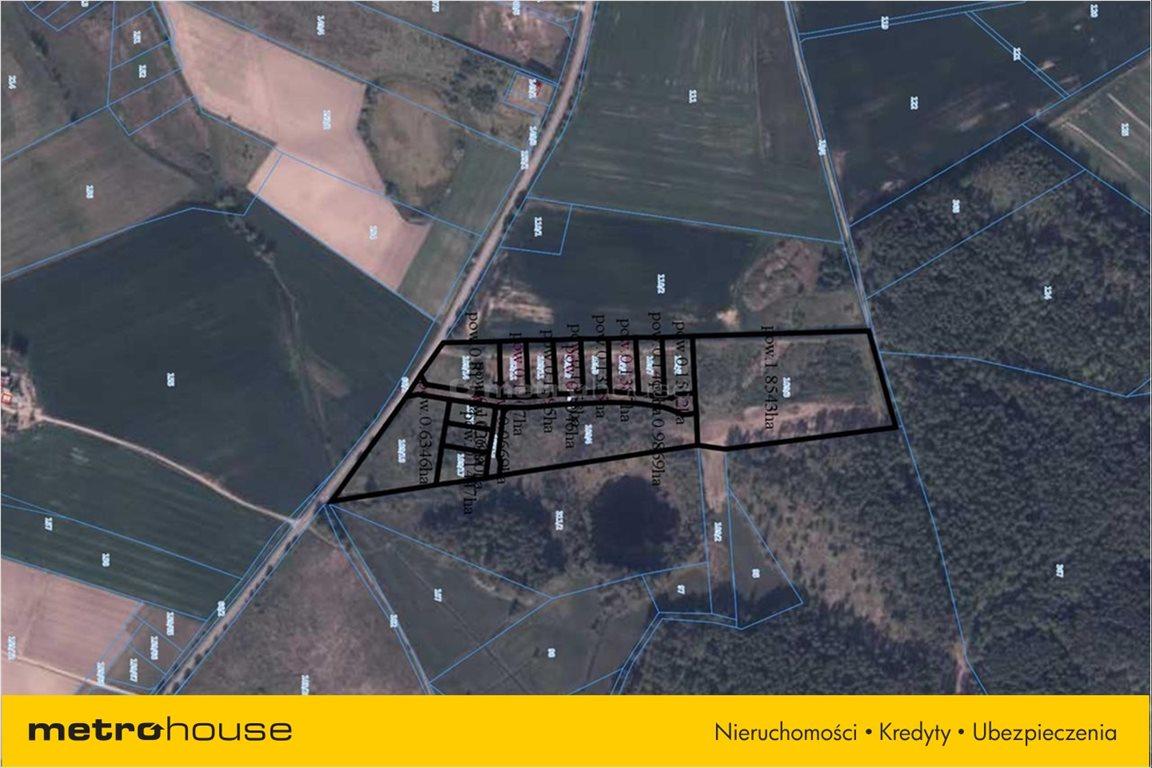 Działka budowlana na sprzedaż Zakrzewo, Linia  55003m2 Foto 2