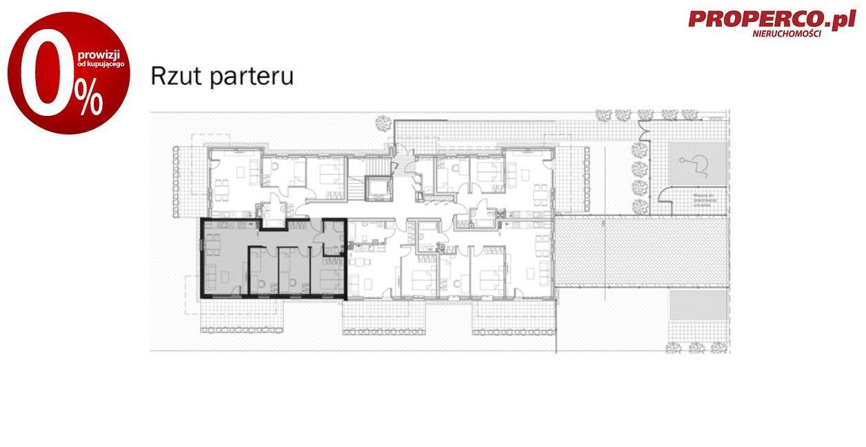 Mieszkanie czteropokojowe  na sprzedaż Kielce, Baranówek  67m2 Foto 9