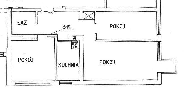 Mieszkanie trzypokojowe na sprzedaż Warszawa, Wola, Górczewska 10  53m2 Foto 12