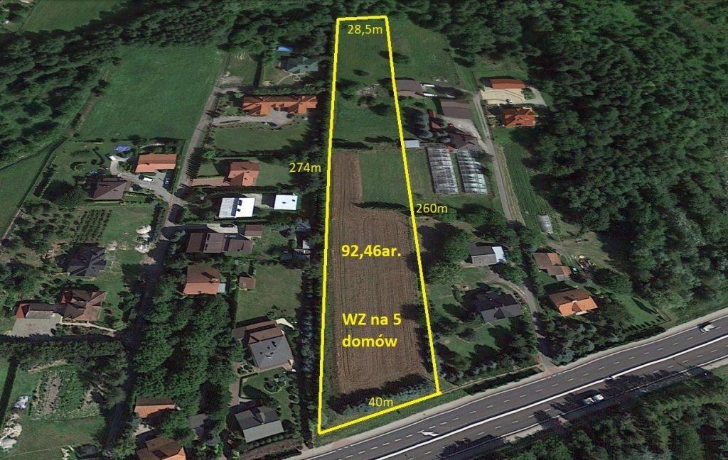 Działka budowlana na sprzedaż Łańcut, Józefa Piłsudskiego  9246m2 Foto 2