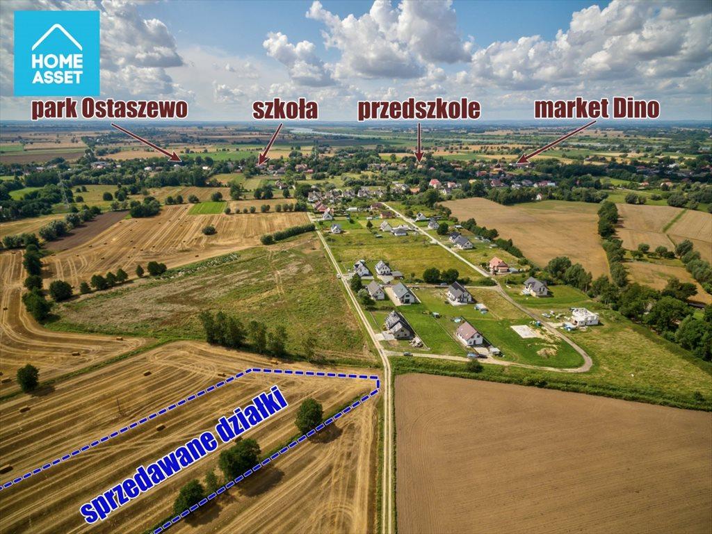 Działka budowlana na sprzedaż Ostaszewo, Makowa  1054m2 Foto 5