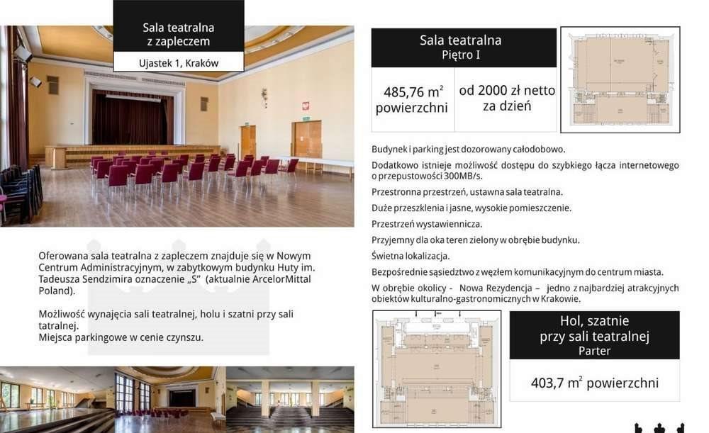 Lokal użytkowy na wynajem Kraków, Nowa Huta, Ujastek 1  486m2 Foto 1