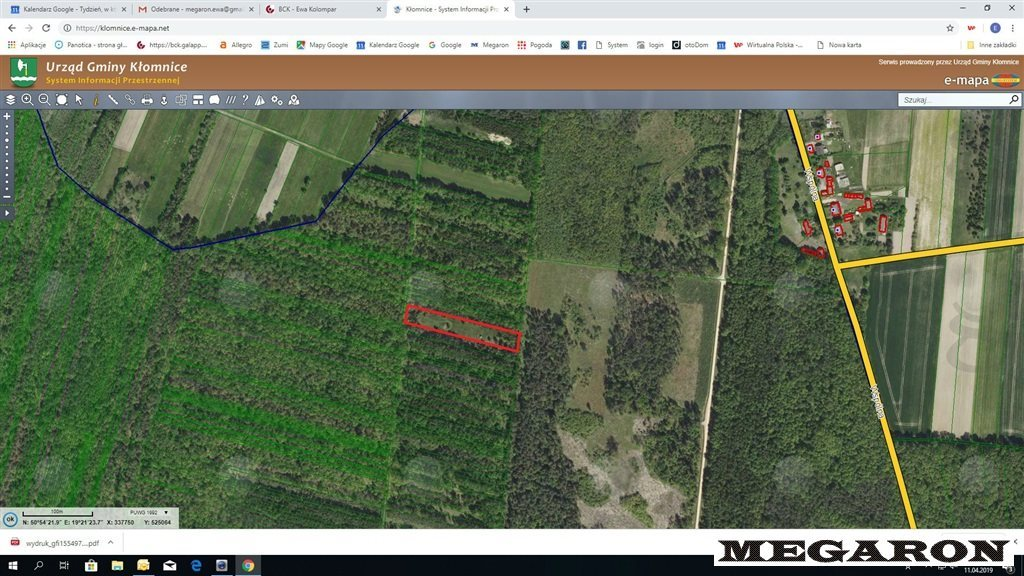 Działka leśna na sprzedaż Rzerzęczyce  25401m2 Foto 2