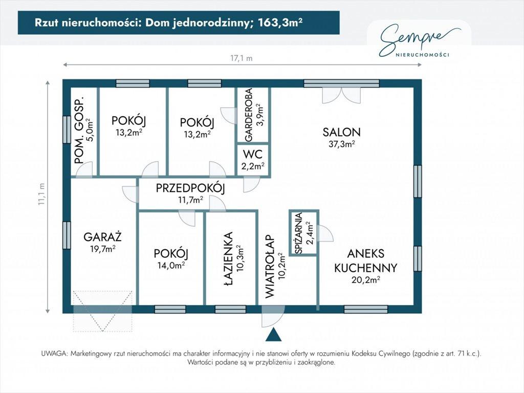 Dom na sprzedaż Łódź  163m2 Foto 5
