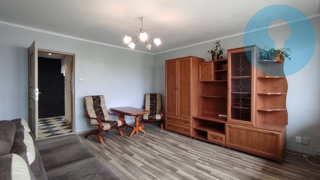 Mieszkanie dwupokojowe na wynajem Kielce, Jagiellońska  48m2 Foto 2